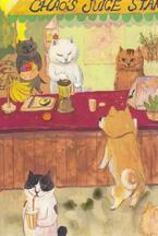 「猫・ネコ・NEKOアート展」伊勢丹新宿店で開催 - 猫がモチーフの絵画や彫刻、雑貨など