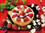 パブロから季節限定「いちご大福チーズタルト」つぶあん×いちごの和風な味わい