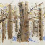 大宮エリー展「tree, tree, tree」代官山で開催 - 青森・十和田の自然を描く最新作