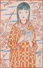 「竹久夢二の春・夏・秋・冬」東京・竹久夢二美術館で - 季節を描いた日本画や挿絵原画など200点展示