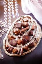 デメルのバレンタイン、ハート型チョコレートや洋酒のトリュフ