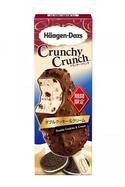 ハーゲンダッツの新クランチークランチ「ダブルクッキー&クリーム」2つの食感のほろ苦チョコクッキー