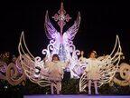 イクスピアリのイルミネーションがスタート 子どもたちがクリスマス曲で祝福