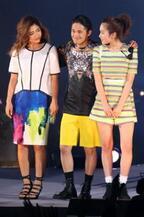 テラハ新旧メンバーが集結 「GirlsAward」でランウェイモデルに