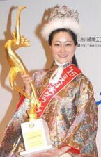 2015年ミス日本に東京出身の22歳・芳賀千里さん 元シンクロ日本代表