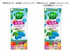 カゴメから美容と健康にいい野菜と果実のミックスジュース、限定発売