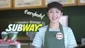 【注目の人物】「サブウェイ」CMの店員が可愛い!元気印の松川菜々花が今キテる!