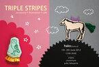 オリジナルのアクセサリー販売&カフェもオープン! 3人のアーティストによるコラボ展『TRIPLE STRIPES』
