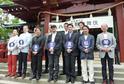 橋之助、獅童、勘太郎らが八月興行の成功祈願で勢揃い!