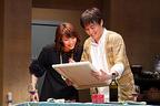 瀬奈じゅんが初のストレートプレイに挑む『ビューティフル・サンデイ』開幕!