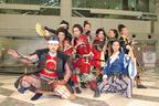 織田信長や豊臣秀吉らがおもてなし武将隊JAPANを結成