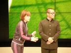 なんばグランド花月にセレッソ大阪アンバサダー・森島寛晃が登場!