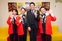 貴乃花親方がなんばグランド花月で大相撲大阪場所をPR!