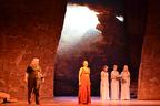 歌姫チェドリンス圧巻のマリボール劇場『アイーダ』