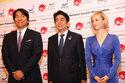 『マッサン』エリーが安倍首相・松井秀喜と日本をPR