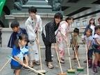 日本橋、夏の恒例行事に映画『麒麟の翼』キャストが参加