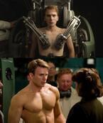 もやしっ子が一瞬で屈強男子に! 『キャプテン・アメリカ』新画像公開