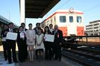 日本一の鉄道旅行を決めるイベントに『僕達急行』から村川絵梨が登場