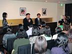 映画『わが母の記』、監督とプロデューサーによる懇親会を開催