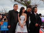レッドカーペット歩行者は550人! 第5回沖縄国際映画祭が華やかに開幕