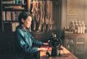 中谷美紀、主演作『繕い裁つ人』初日舞台挨拶に登壇