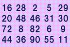 1分で解けたらIQ135以上!並んだ数字を2つに分けるクイズ