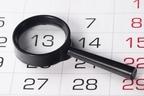30秒でわかった人は数字の天才!不吉な日の回数を数えるクイズ