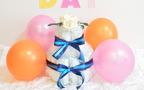 出産祝いの定番、おしゃれなおむつケーキはこれ【価格別】