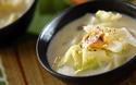 栄養とうまみたっぷり旬の味! アサリと白菜の和風チャウダー