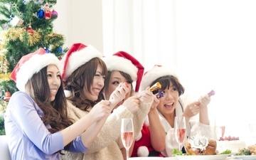女子同士でクリスマスパーティ を楽しむアイデア&テクニックまとめ