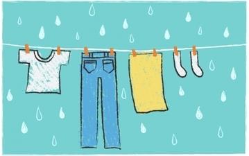 部屋干しのコツまとめ 梅雨時期の洗濯に!