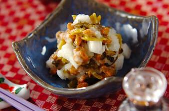 お腹の調子を整える「大根おろし」を使った副菜レシピ