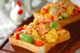 一人暮らし応援! 朝食を抜かない人のトーストレシピ集