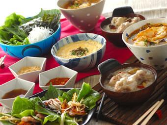 お家で簡単に作れちゃう♪みんなで食べたい韓国料理