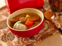 寒い日のお弁当に!スープジャーレシピ