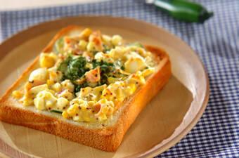 朝は簡単美味しくトーストアレンジレシピ