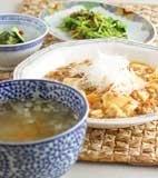 マーボー豆腐の献立