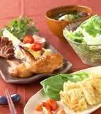 鶏3種のオーブン焼きの献立