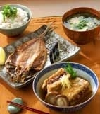 高野豆腐の揚げ煮の献立