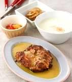 鶏肉のマスタード焼きの献立