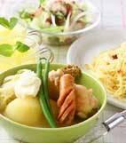 キャベツのスープ煮の献立