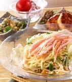 野菜冷麺の献立