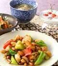 「鶏肉のナッツ炒め」の献立