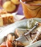 サンマの梅酒煮の献立
