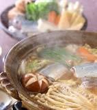 サンマと野菜のみそ鍋の献立