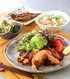鶏肉の和風オーブン焼きの献立