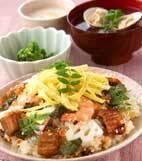 華やかちらし寿司の献立