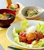 鶏ソテー・ハニーソースの献立