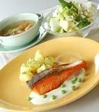 鮭ソテーさっぱりソースの献立