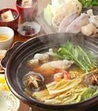 海鮮鍋の献立
